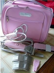 ピンクのバック付き。