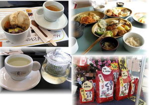 美味しい甘栗・軽井沢のランチ・カフェでお休み
