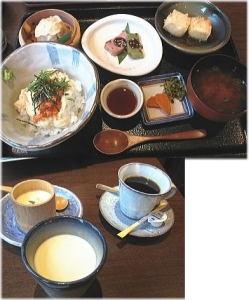 湯葉のどんぶりやアツアツ揚げ豆腐美味しいよ。