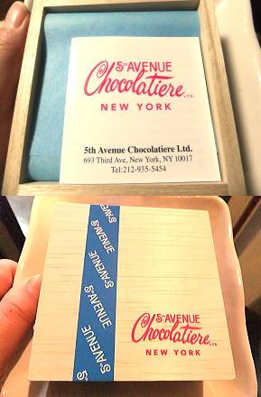 『5th Avenue』 シャンパン チョコレート