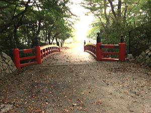 木橋 (相馬神社から野球場がある東二の丸跡へ)