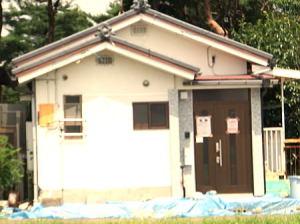 張り紙が貼られた家は危険で住めないそうです