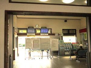相馬駅内はとてもキレイで昔のまま