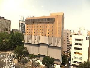 仙台三越駅向かいにあった旧三井アーバンホテル(現在はホテルコムズ仙台)