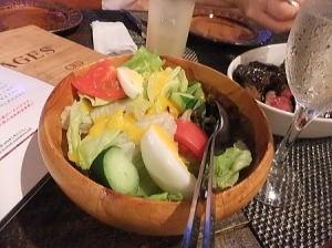 地野菜のサラダ ピレネー風