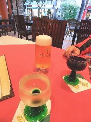 ビットブルガー(ドイツ直送の最高品質の生ビール)  グラス945円