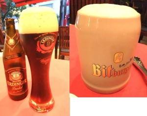 エルディンガードゥンケル(黒ビール)  1365円