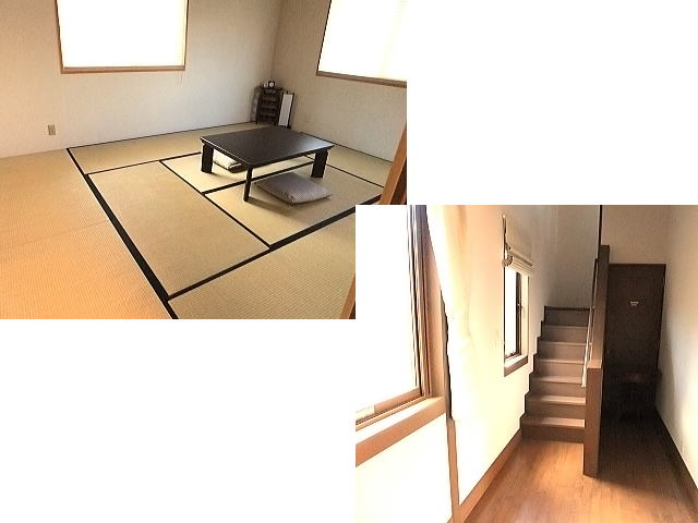 和室はワンちゃんはNG。あちこちから陽が入る部屋