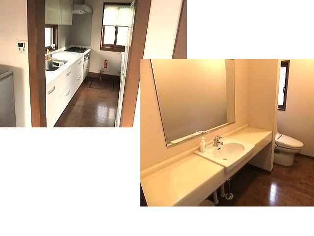 台所と洗面所とトイレ