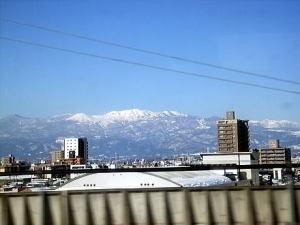 福島の景色 たぶん安達太良山かな?