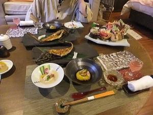 2日目の夕食