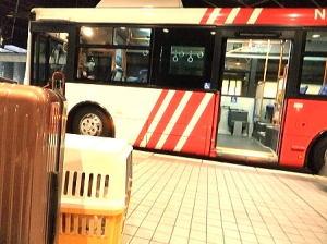 土曜日に北海道に来る方が多いのでバスは大混雑