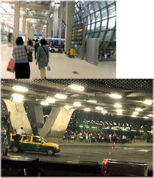 タイ・バンコク『スワンナプーム国際空港(バンコク国際空港)』に到着