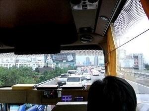 タイ・バンコク『スワンナプーム国際空港(バンコク国際空港)』から『シャングリ・ラ・ホテル』まで渋滞