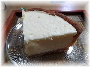 タルト生地薄くサワークリーム入り、酸味がちょうど良い