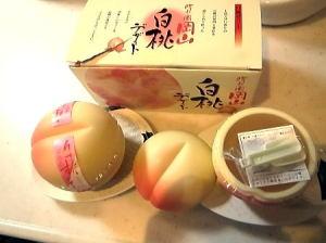 晴れの国岡山白桃デザート 2個入り