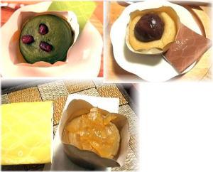抹茶・柚子・マロン プレミアム・スィートポテト