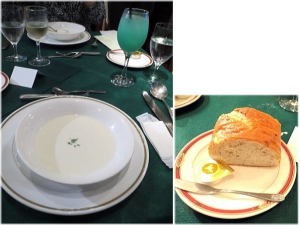 ヨーグルトのビシソワーズ仕立てのスープ
